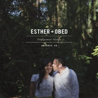 Esther + Obed // Engagement Session // Arcadia, Ca